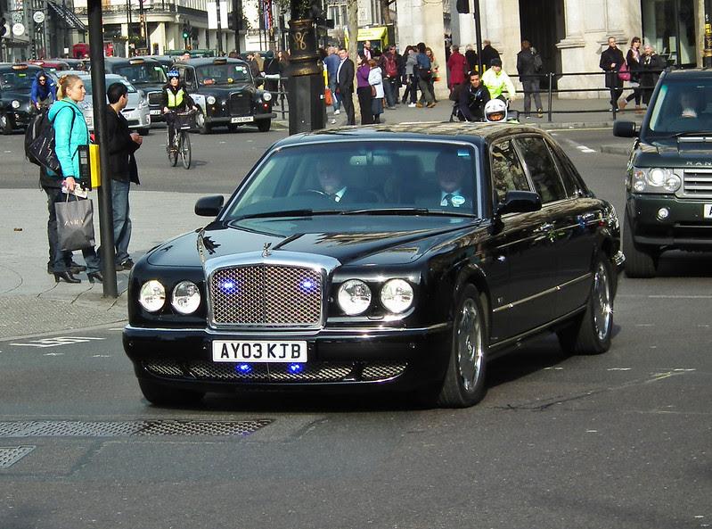 Unmarked Bentley