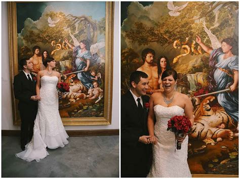 museum  biblical art wedding  alexm photography
