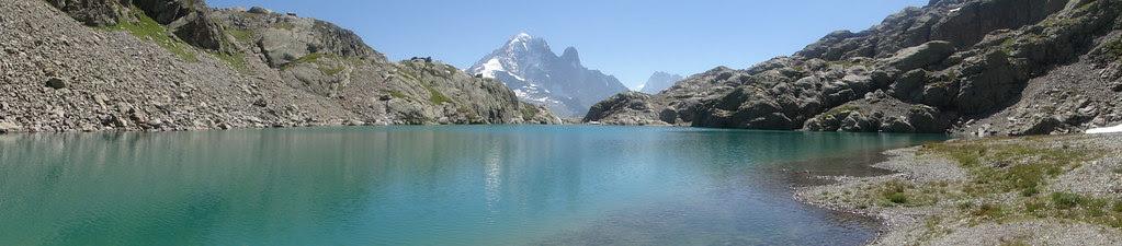 panoramique lac blanc
