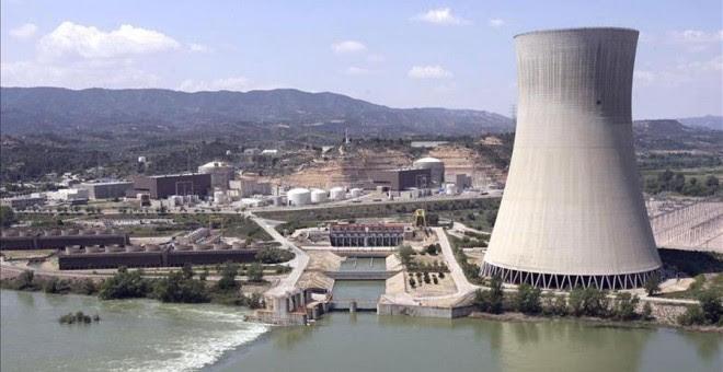 La central nuclear de Garoña, en Burgos. EFE