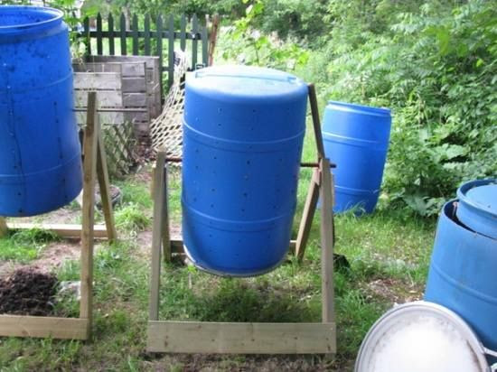 how to use a compost tumbler.[good]