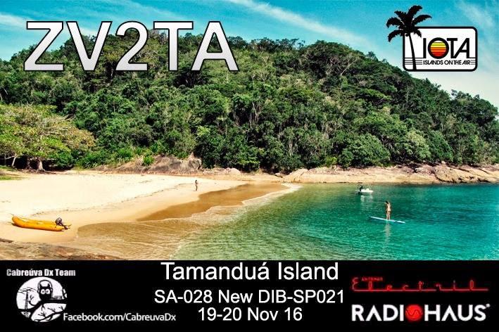 Tamandua Island ZV2TA