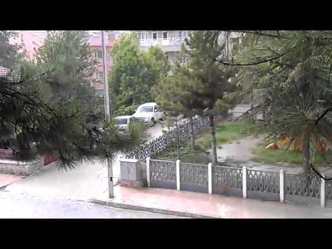 Bozkır Oruç Sıcağında Yağmur Beklerken Dolu Gördü 31.07.2012 Pazartesi