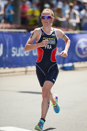 Alexandra Cassan Ferrier - 2015 Mooloolaba ITU Triathlon World Cup Women - 2015 Mooloolaba Triathlon Multi Sport Festival, Sunshine Coast, Qld, AUS; Saturday 14 March 2015. Photos by Des Thureson - http://disci.smugmug.com. Camera 1.