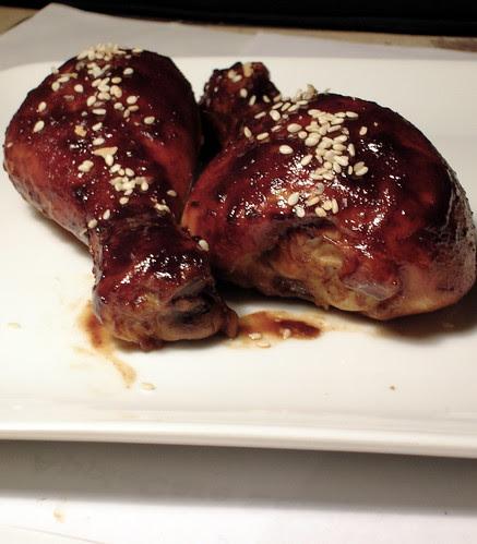 black lacquer chicken 3