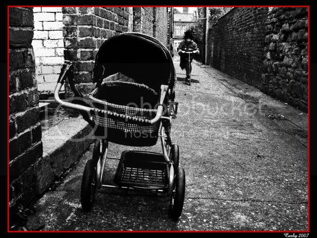 picture of back lane, Laygate, South Shields