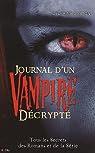 Journal d\'un vampire décrypté par Delphine Gaston