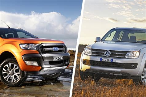 ford ranger  volkswagen amarok comparison review