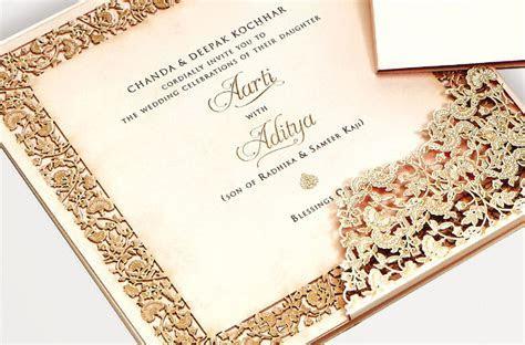 Bespoke Wedding Invitations   Chanda and Deepak Kochhar