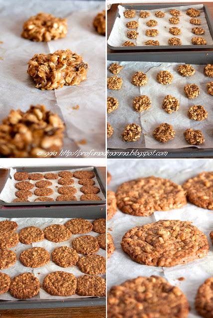 cookies puzzle: prima e dopo