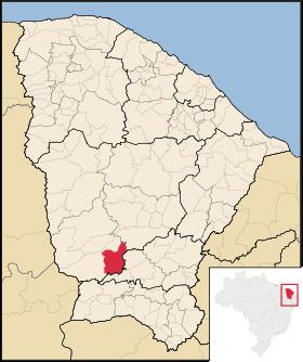 Localização de Saboeiro