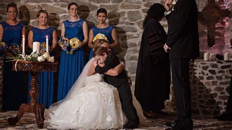 Bride Makes Emotional Vow to Stepson and His Mom During