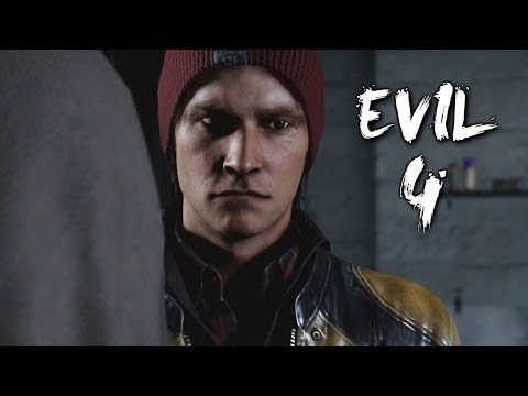 you movies : Gameplay Infamous Second Son Walkthrough Part 4 PS4 (Evil Bad Karma)