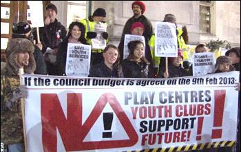Southampton council protest