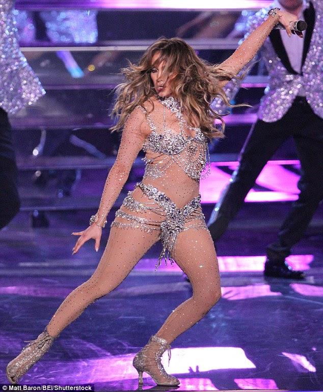 J'lo,Risque bodysuit,All I have,Las Vegas,