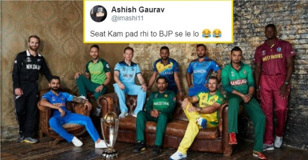 World Cup 2019: Cricket Lovers Making Fun of this Picture featuring all the Team Captains
