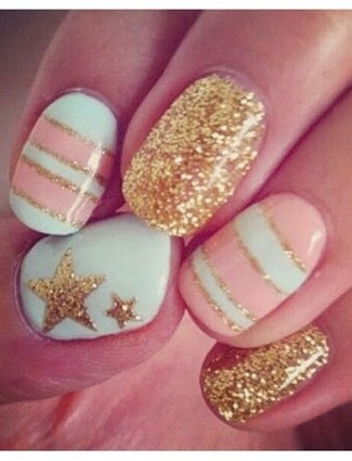 CUTE nails!!! Follow me for more beauty! =D