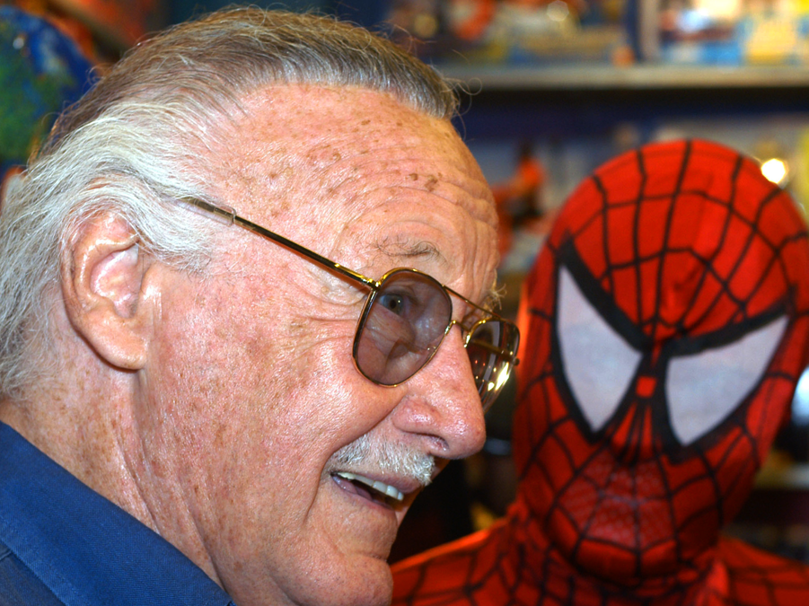 """Stan Lee created his first hit comic, """"The Fantastic Four,"""" just shy of his 39th birthday in 1961. In the next few years, he created the legendary Marvel Universe, whose characters such as Spider-Man and the X-Men became American cultural icons."""