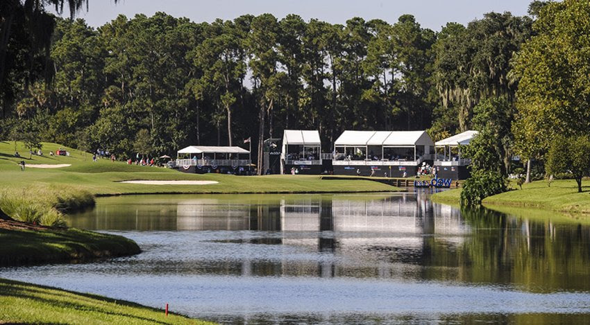18th hole, TPC Sawgrass Dye's Valley course