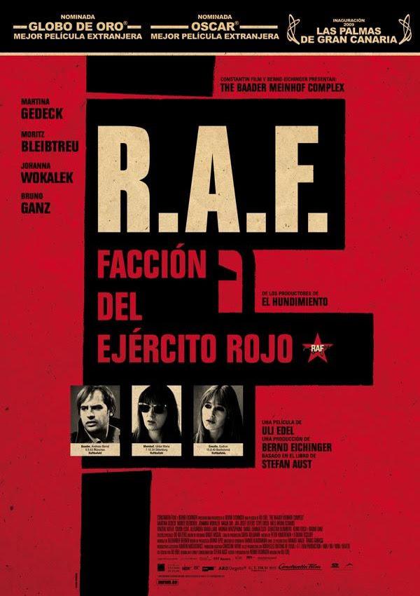 R. A. F.: Facción del ejército rojo (Uli Edel, 2.008)