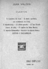 Cuentos de Juan Valera