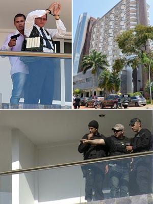 FIM SEQUESTRO 2 (Foto: Evaristo Sa/AFP, José Cruz/Agência Brasil e Reprodução/Globo News)