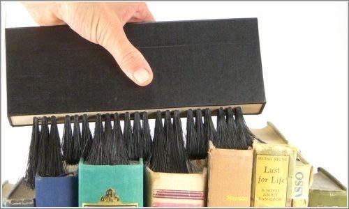 limpiar libro La importancia de limpiar un libro