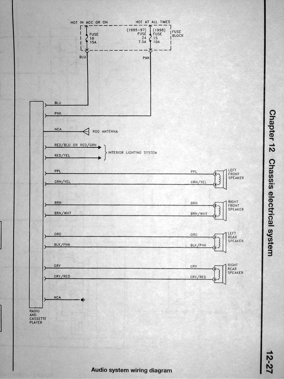 6ad3 Nissan Maxima Radio Wiring Diagram Wiring Diagram Library
