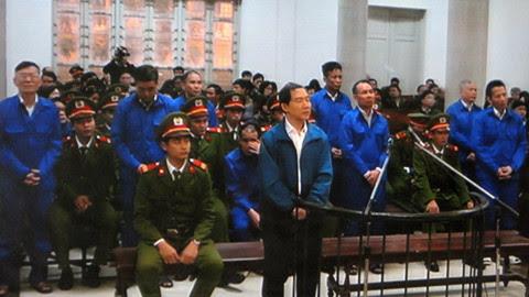 Dương Chí Dũng, xét xử, Vinalines, kêu oan, tử hình, phiên tòa, Hà Nội