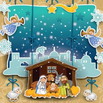 Resultado de imagen para imagenes de navidad en un pesebre