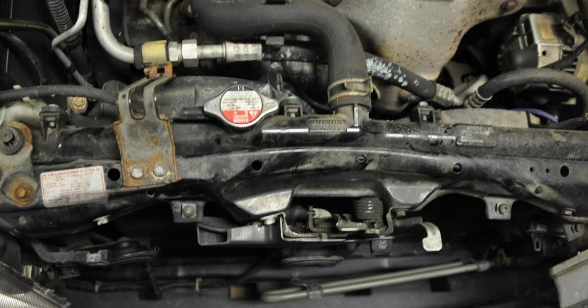 2004 Acura Tl Radiator Support Manual