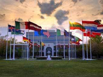 Штаб-квартира НАТО. Фото с сайта nato.int