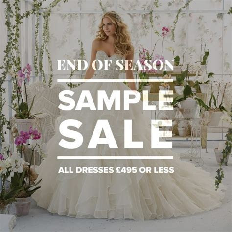 Wedding Dress Sample Sale: All dresses £495 and under
