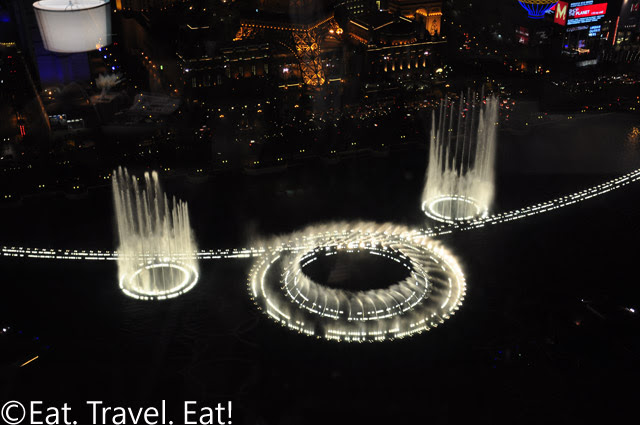 Bellagio Fountains Night 1