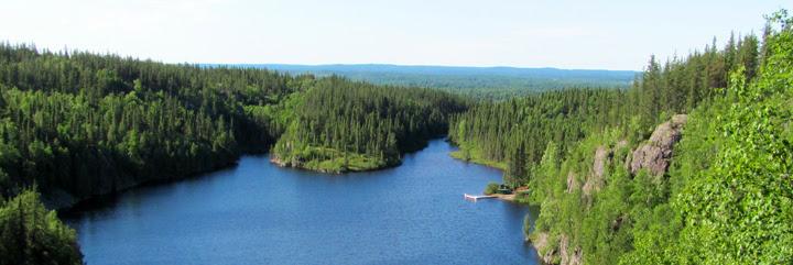 Le parc national d'Aiguebelle en Abitibi Témiscamingue.
