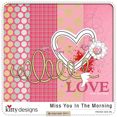 Miss You In The Morning Freebie