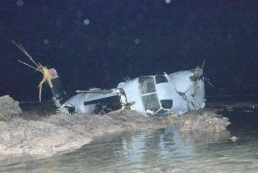 US Marine MV-22 Osprey crashes off east coast of Nago, 2 of 5 crewmembers hurt