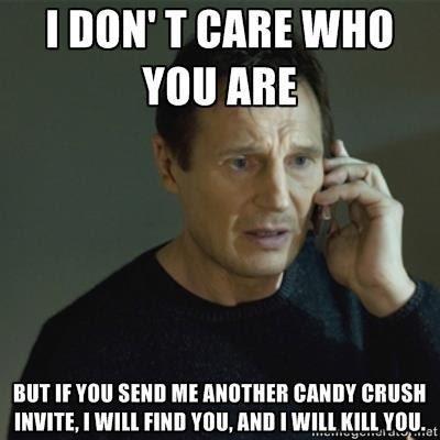 candy crush saga, candy crush saga comic, candy crush saga invite, facebook game invite, annoying game invitations