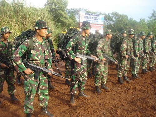 Batalyon 467 Paskhas dlm barisan
