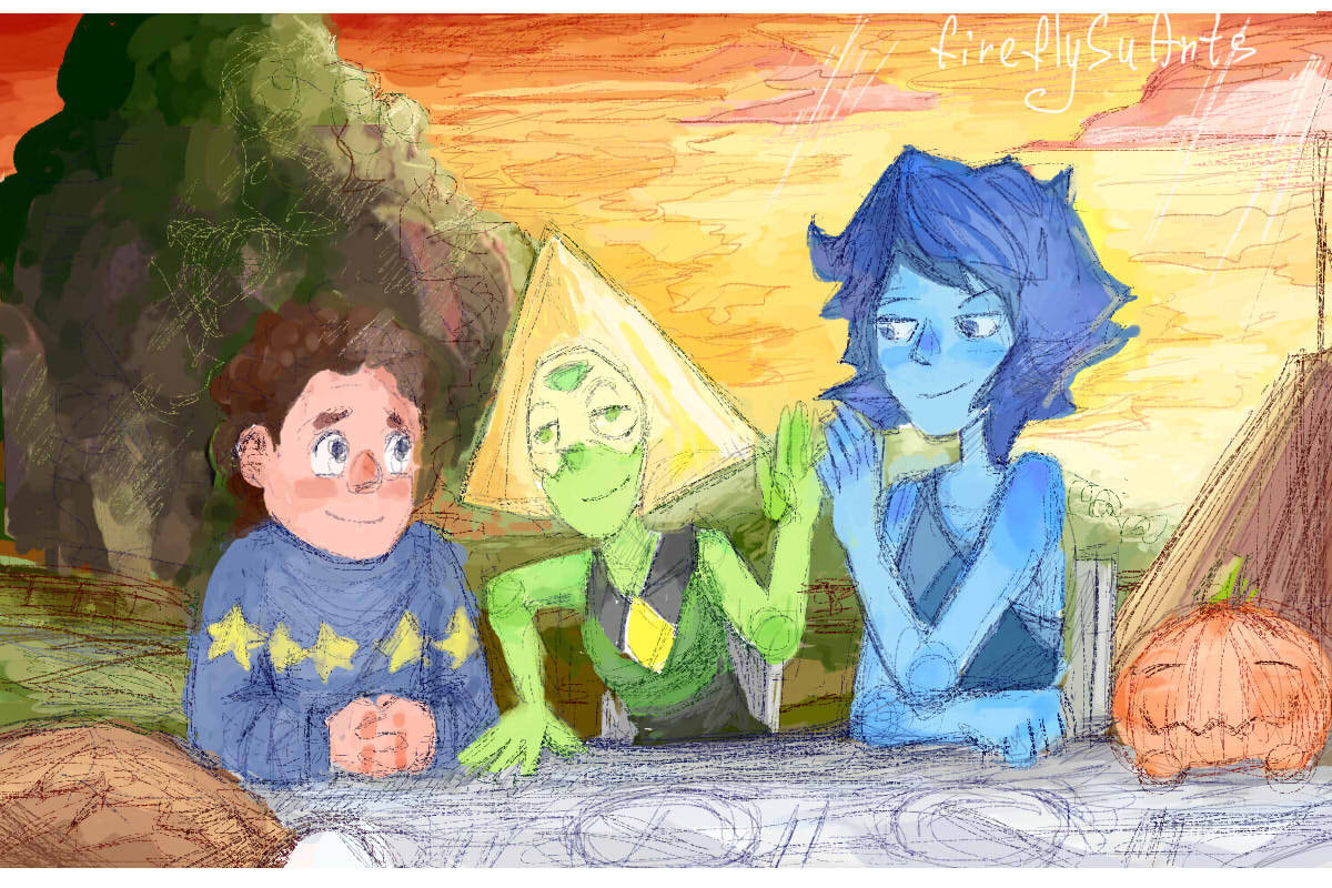 It was very kind, sincere and family episode. Lapis and Peridot became good friends…it`s make me so happy!