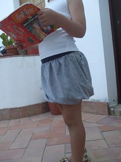 la inglesita twisted skirt