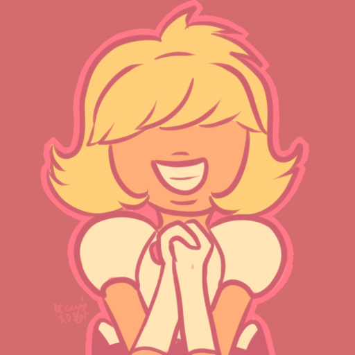 did a limited-palette version of MY BEAUTIFUL CHILD PADPARADSCHA, WHOMST I'M LOVE…idk how i hadn't already drawn her tbh
