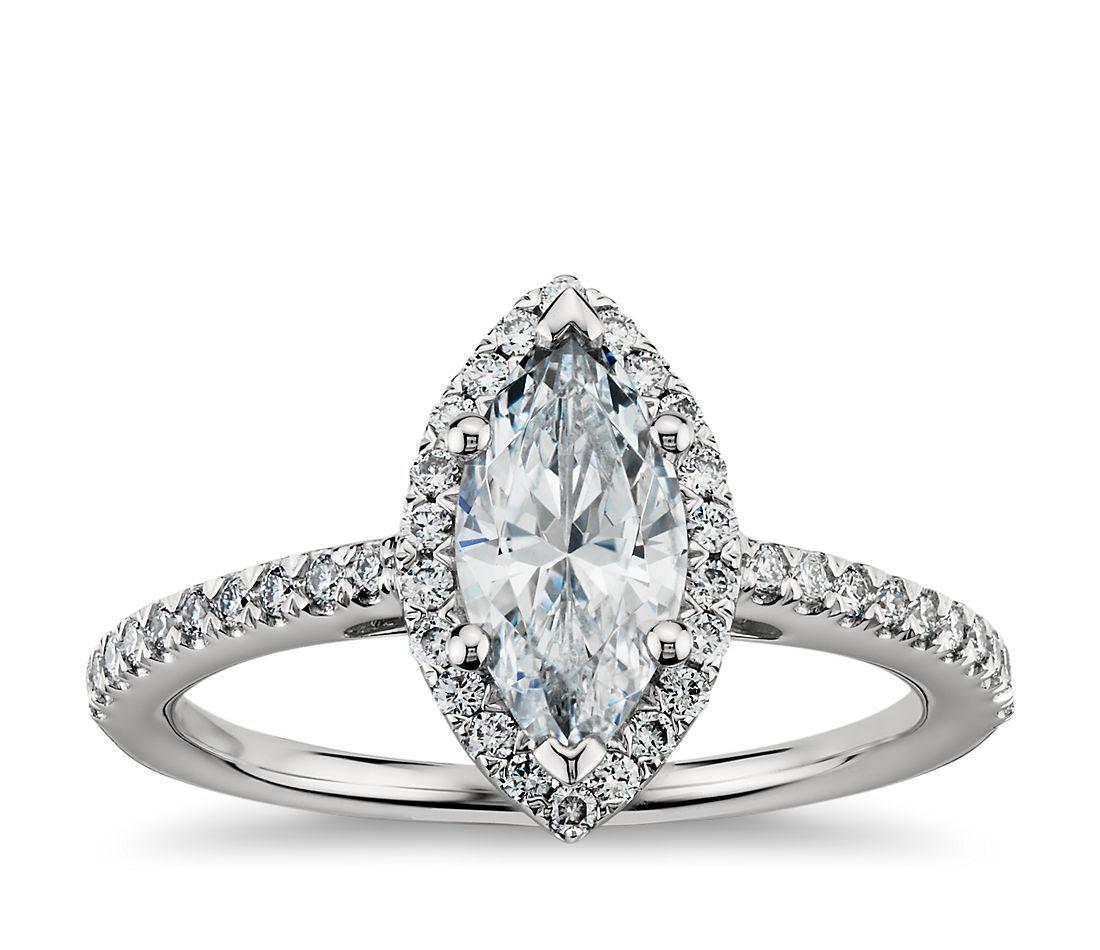 Resultado de imagen para diamond marquise rings