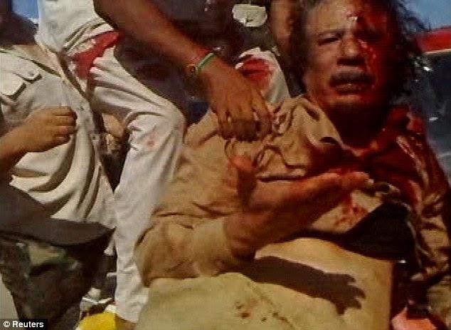 Картинки по запросу убийство каддафи