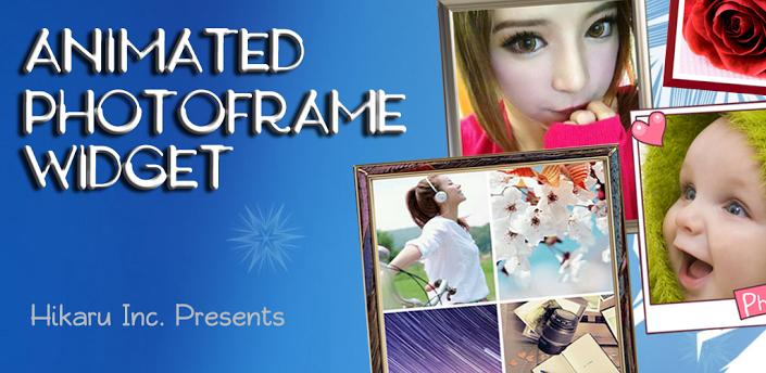 Animated Photo Frame Widget + apk