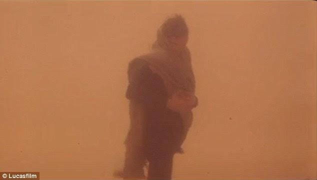 Luke of Arabia: Skywalker gets ready to depart into the treacherous Tatooine desert