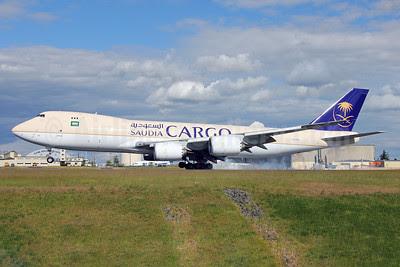 Saudia Cargo (Saudi Arabian Airlines) Boeing 747-87UF N958BA (HZ-AI4) (msn 37563) PAE (Nick Dean). Image: 912561.