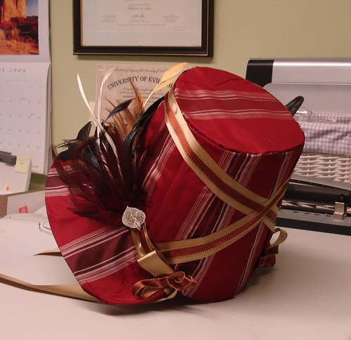 My Stovepipe Bonnet