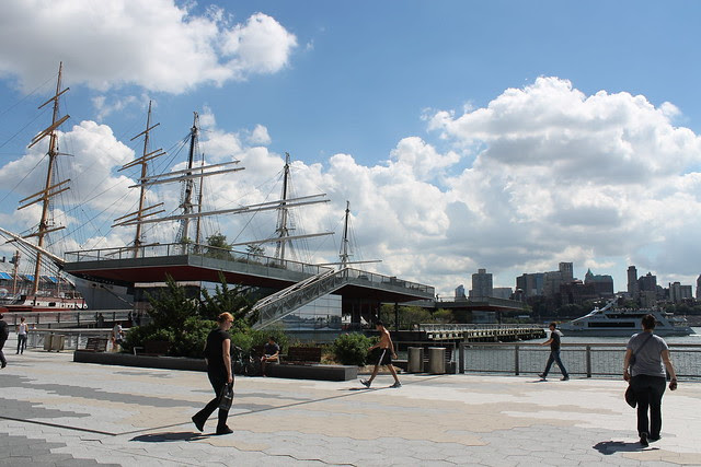 South Street Seaport Waterfront Restaurants