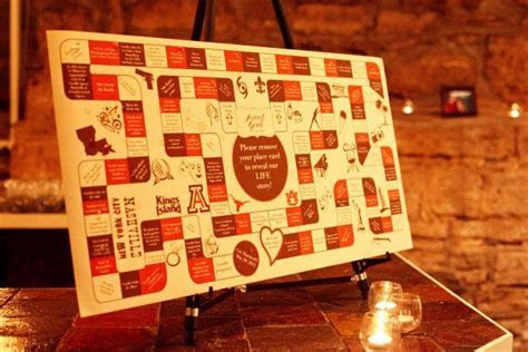 amazing! Place cards covered up spaces on a custom board